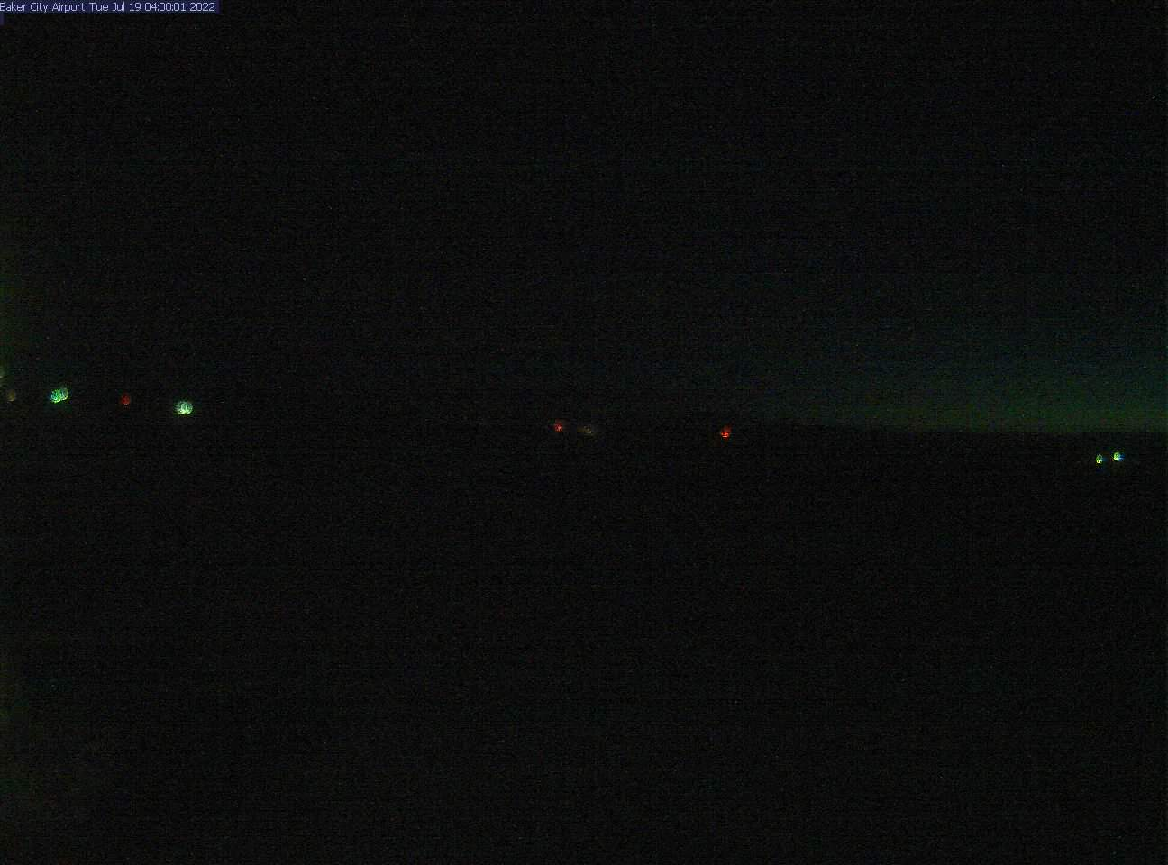 Picture of Baker City Airport web cam looking northwest